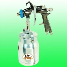 LVLP SUCTION FEED SPRAY GUN W/1.0 LITER ALUM CUP