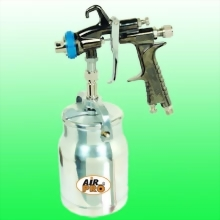 SUCTION FEED SPRAY GUN w/1.0 Liter Alum Cup