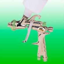 WATER BASE HVLP GRAVITY FEED DETAILING SPRAY GUN W/125CC NYLON CUP