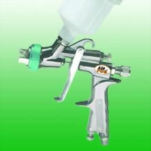 WATER BASE HVLP GRAVITY DETAILING FEED SPRAY GUN W/125CC NYLON CUP
