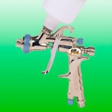 LVLP GRAVITY FEED DETAILING SPRAY GUN W/125CC NYLON CUP