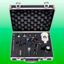 WATER BASE LVLP GRAVITY FEED DETAILING SPRAY GUN KIT