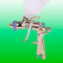 WATER BASE LVLP GRAVITY FEED DETAILING SPRAY GUN W/125CC NYLON CUP