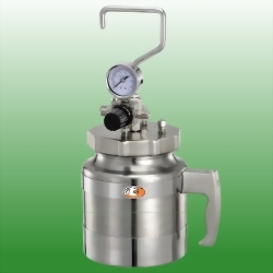 3.2 LITER STAINLESS STEEL PRESSURE POTS, NO AGITATOR
