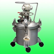 10 LITER STAINLESS STEEL PRESSURE POTS w/AIR AGITATOR