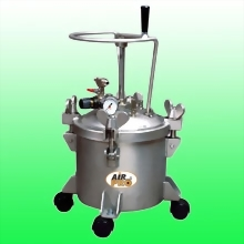 10 LITER STAINLESS STEEL PRESSURE POTS w/MANUAL AGITATOR