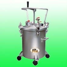 20 LITERSTAINLESS STEEL PRESSURE POTS; MANUAL AGITATOR