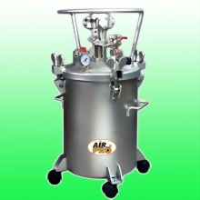 50 LITER STAINLESS STEEL PRESSURE POTS; AIR AGITATOR