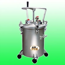 50 LITER STAINLESS STEEL PRESSURE POTS ; MANUAL AGITATOR