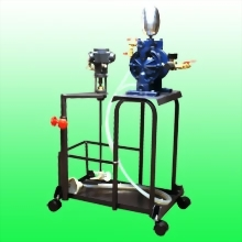 CART  TYPE  DOUBLE  DIAPHRAGM  PUMP