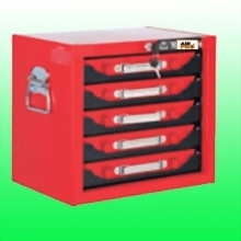 5-DRAWER PARTS CABINET WITH 5PCS METAL BOXES