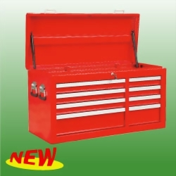 "42"" 8-Drawer Full Size Top Chest Ball Bearing Slides The Cover With Gas Spring"