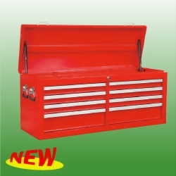 "53"" 8-Drawer Full Size Top Chest Ball Bearing Slides The Cover With Gas Spring"