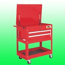 3 DRAWER SERVICE CART BALL BEARING SLIDES