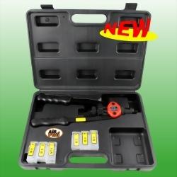 """13"""" Metric/SAE Hand Rivet Nut Kit w/Rivet Nut Assortment"""