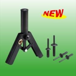 Hand Plastic Riveter Kit w/40Pcs Rivets