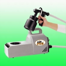 SPRAY GUN SET HIGH VOLUME LOW PRESSURE PAINTING SYSTEM