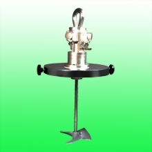 Air Agitator w/20  liter stainless steel drum cover