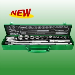 "17PCS 1/2""DR. Socket Set"