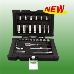 "33PCS 1/4"" SOCKET SET"