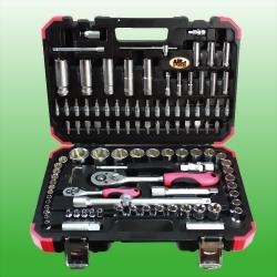 """108PCS 1/4"""" & 1/2"""" DR. Tool Kit(Mat Finished)"""