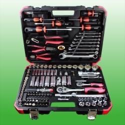 """127PCS 1/4"""" & 1/2"""" DR. Tool Kit(Mat Finished)"""