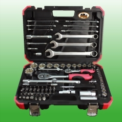 """82PCS 1/4"""" & 1/2"""" DR. Tool Kit(Mat Finished)"""