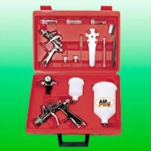 COMBO HVLP GRAVITY FEED SPRAY GUN KIT