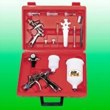 COMBO WATER BASE LVLP GRAVITY FEED SPRAY GUN KIT