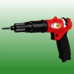 Pistol-Push Start Shut Off Composite Air Screwdriver