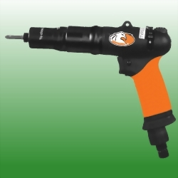 Low Noise Oil Free Pistol Handle Push or Push & Trigger Start Shut Off Composite Air Screwdriver