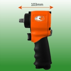 "1/2"" Micro Mini Light Weight Air Impact Wrench"
