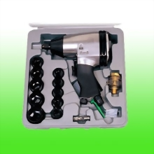 "17PCS 1/2"" Impact Wrench Kits"