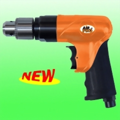 "3/8"" Reversible Air Drill (Full Cage Gear)"