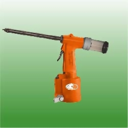 "5/32"" Extented Air Hydraulic Riveter With Vacuum Mandrel Collection System"