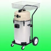2 Person Mobile Dust Vacuum System w/o Sanders for Air Sander & Electric Sander Application