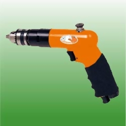 "1/4"" Mini Reversible Air Drill w/Comfort Grip"