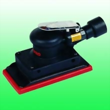 "Central-Vacuum Composite Random Orbital Sander w/3-2/3""x7"" (93x178 mm) Hook face pad"