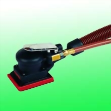 "Self-Generated Vacuum Composite Random Orbital Sander w/3""x4"" (75x110 mm)Hook Face Pad"