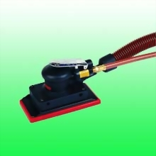 "Self-Generated Vacuum Composite Random Orbital Sander w/3-2/3""x7"" (93x178 mm) Hook face pad"