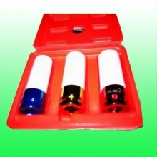 "3 Piece 1/2"" Drive Thin Wall w/Plastic Sleeve & Stop Impact Socket Set"
