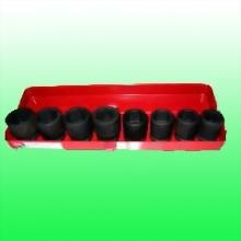 "8 Piece 3/4"" Drive Length Standard Impact Socket Set"