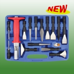 All Go Chisel & Punch Set W/14PCS Bits