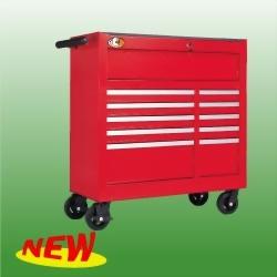 "42"" 11-Drawer Roll-Wagon Fully Shelf-Closing Ball Bearing Slides"