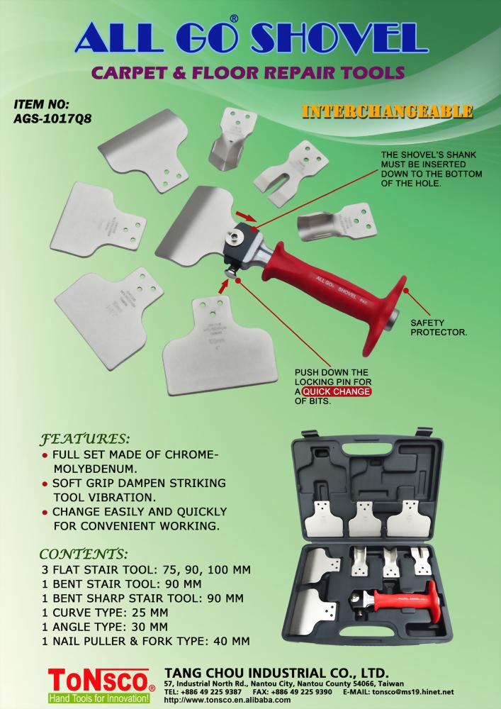 AllGo Shovel Carpet and Floor Repair Tools
