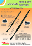 Extendable Free Long Wrecking Bar with Jimmy End