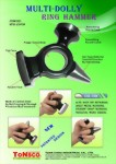 Auto Body Repair Multi-Dolly Ring Hammer