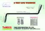 2 Way Lug Wrench For Truck and Bus 17H