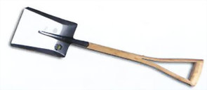 12_STAINLESS STEEL SHOVEL
