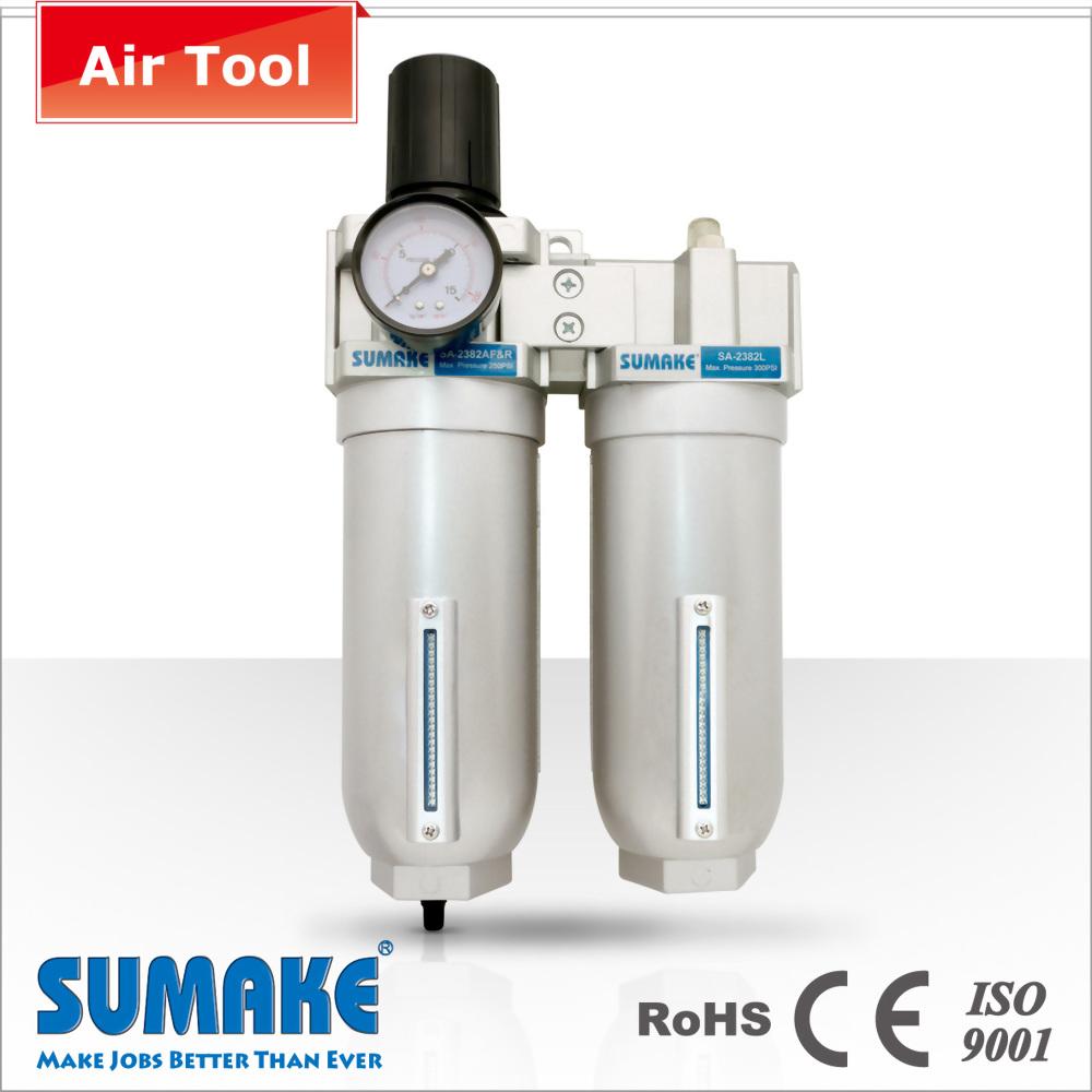 """3/4 """"Regulador de filtro industrial lubricador para aire comprimido"""
